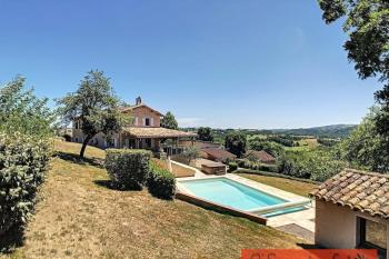 A wonderful property with three gites and two swimmimg pools in a small hamlet