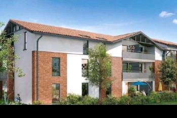 Appartement T3 avec 2 parkings et jardin terraase